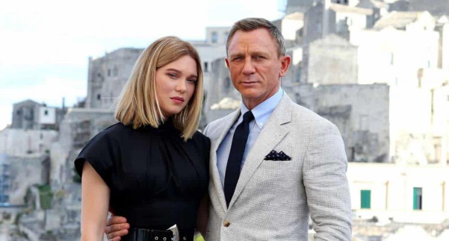 Léa Seydoux y Daniel Craig