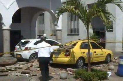 Accidente en Cartagena