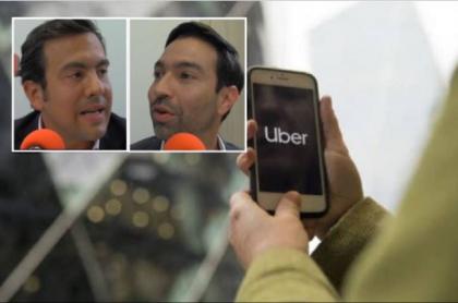 Debate sobre Uber en Semana
