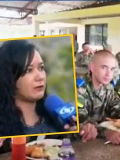 Yuri Patiño, mamá de hijo único reclutado por el Ejercito