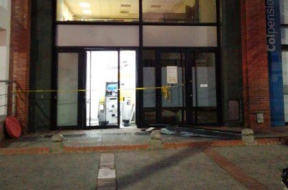 Cajero de Bancolmbia atracado