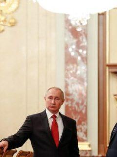 Putin y Medvedev