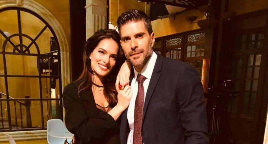 Ángela Piedrahita y Juan Pablo Llano