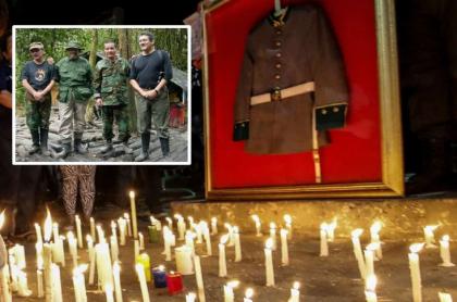 'Pablo Beltran', 'Ramiro Vargas', 'Gabino' y 'Antonio Garcia'. y homenaje a cadetes.