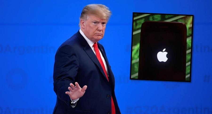 Apple y Trump