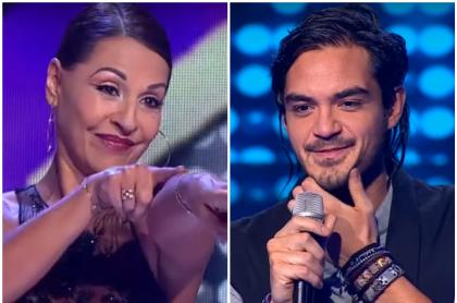 Amparo Grisales y Ricardo Arjona, de 'Yo me llamo'