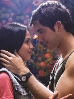 Ana María Estupiñán y Carlos Torres, actores.