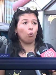 Mujer atacada por su novio.