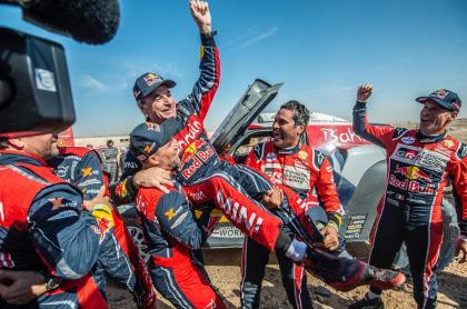 Carlos Sainz campeón del rally Dakar 2020