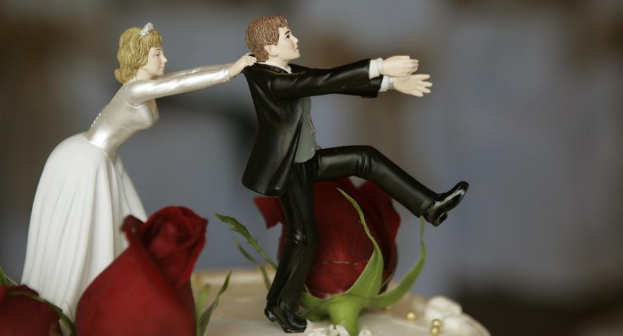 Muñecos de pastel de boda