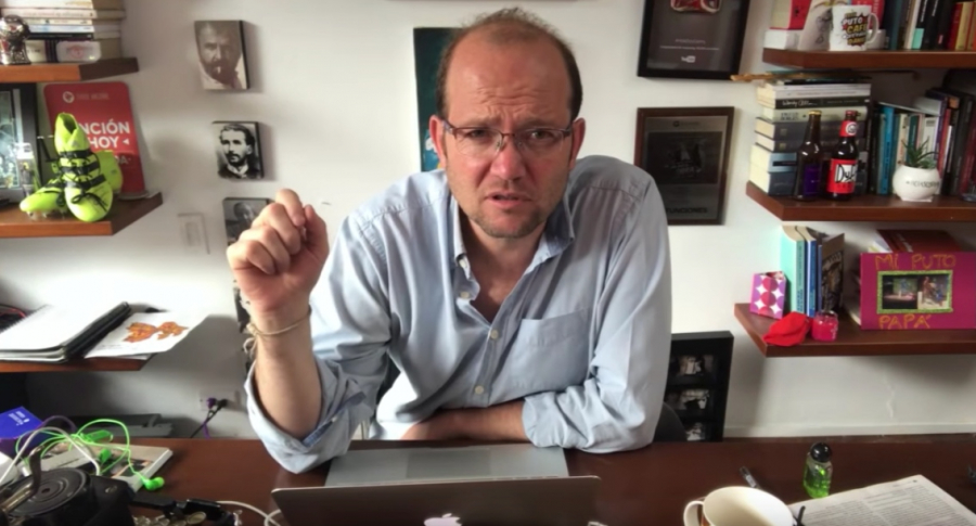 Daniel Samper, periodista y 'youtuber'.
