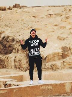 [Video] Escalada en la gran pirámide de Guiza envió a este 'youtuber' directo a prisión