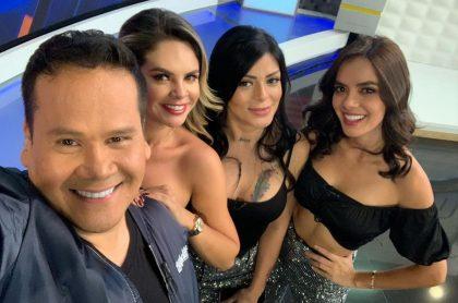 Ariel Osorio, Alejandra Serje, Marbelle y Elianis Garrido