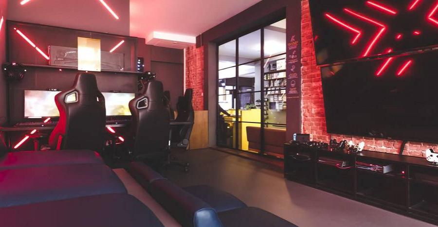 Hotel-Gamer-Arcade