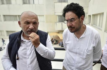 Roy Barreras e Iván Cepeda