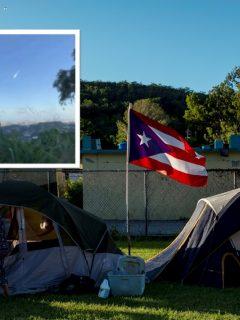 Tras semana de temblores, meteoro pasó cerca del suelo y amenazó a Puerto Rico