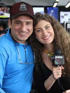 Robinson Díaz y Adriana Arango