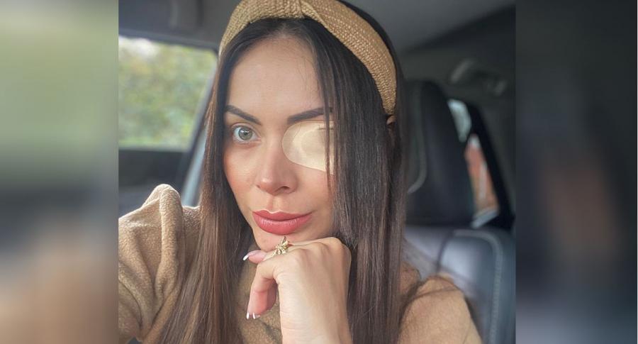 Laura González, exprotagonista.