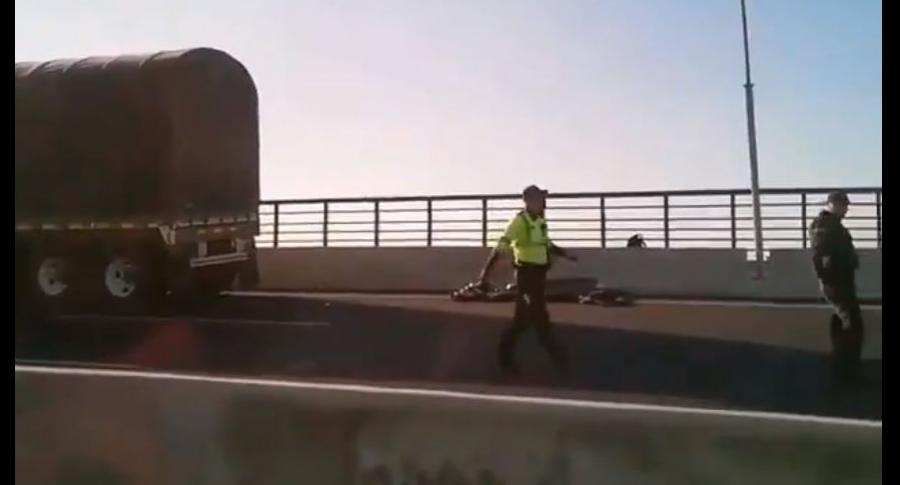Accidente en Puente Pumarejo