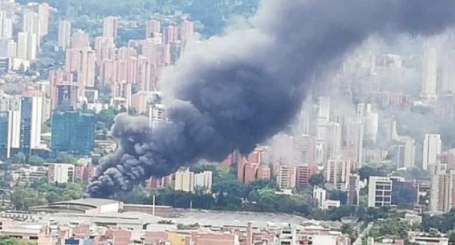 Incendio en Itagüí