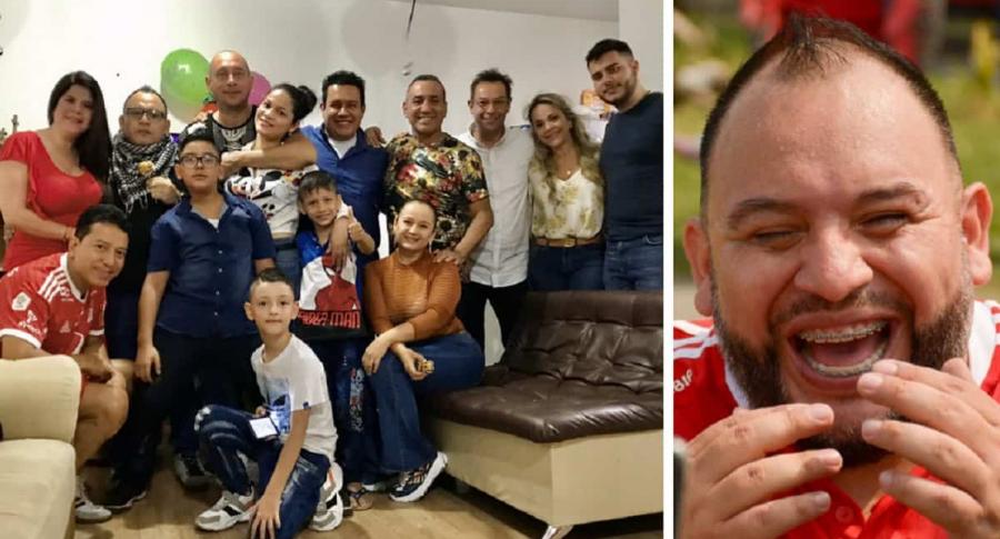 Collage: amigos de Leonardo Vargas / Leonardo Vargas