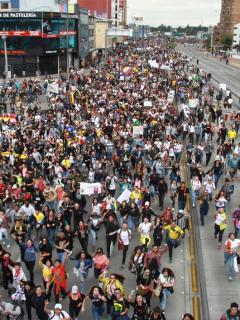 """Susto entre comerciantes de Colombia por las marchas que vienen: """"no tienen justificación"""""""