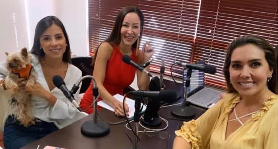 Manuela Cardona, Flavia Dos Santos y Mónica Rodíguez.