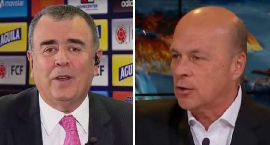 Javier Hernández Bonnet y Carlos Antonio Vélez