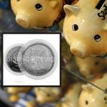 Moneda de 10.000 pesos.