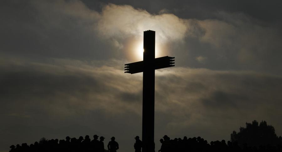 Silueta de una cruz
