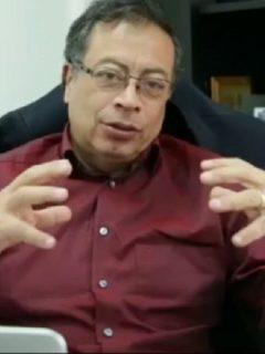 No soy cómplice de dictadores ni de 'Rastrojos': Petro no se le quedó callado a Guaidó