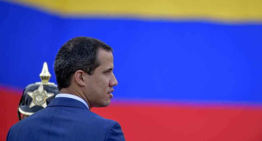 Juan Guaidó en Colombia