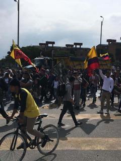En vivo, siga minuto a minuto el desarrollo de las protestas de este 21 de enero en Bogotá
