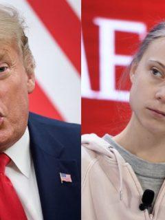 """Thunberg arremete contra líderes políticos y Trump llama """"alarmistas"""" a activistas"""