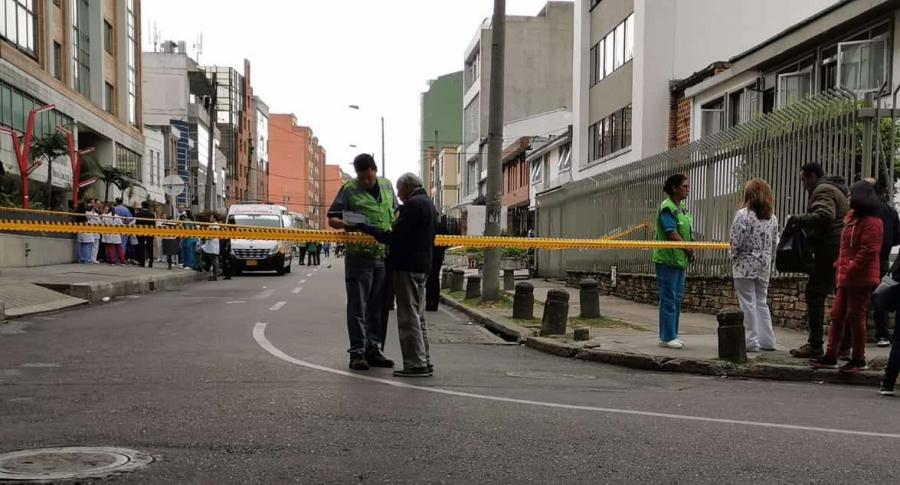 Clínica Country de Bogotá, donde ocurrió el hecho fatal.