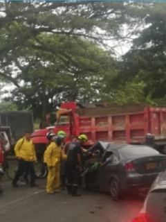Accidente en Valle del Cauca