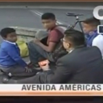 Periodista de City TV y niños