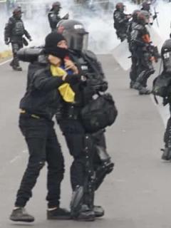 Alcaldía entrega balance positivo de nuevo protocolo: solo envió Esmad a 4 de 20 marchas