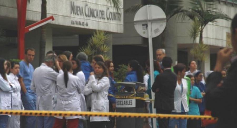 Médico muerto en Clínica del Country
