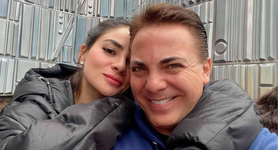 Martha Muvdi y Cristian Castro