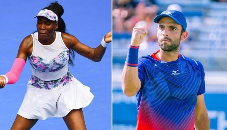 Venus Williams y Juan Sebastián Cabal