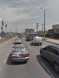 El accidente ocurrió sobre la avenida Ciudad de Cali