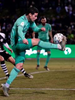 [Video] El gol que se comió James frente al arco, contra equipo de tercera división