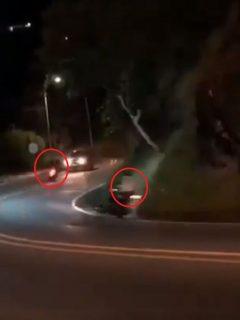[Video] A lo 'Rápido y Furioso', así son los piques suicidas de motos y carros en Cali
