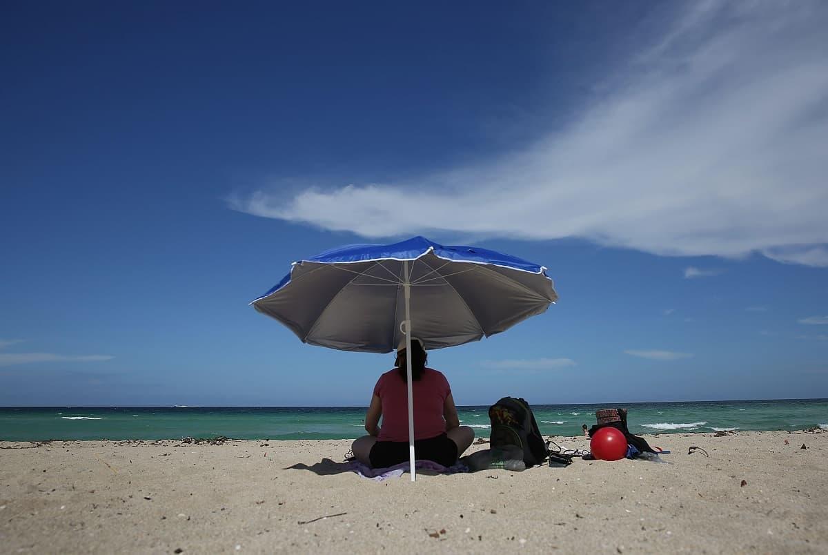 Imagen de una playa
