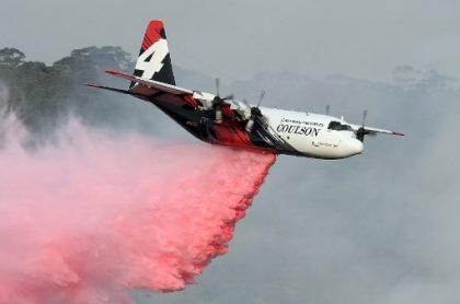 Avión C-130 Hércules de la compañía canadiense Coulson Aviation