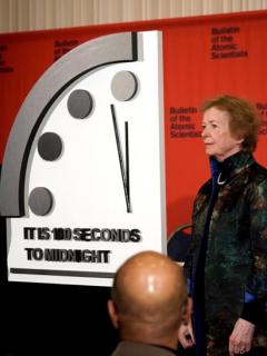 Adelantaron el 'reloj del apocalipsis' y quedó más cerca que nunca del fin del mundo