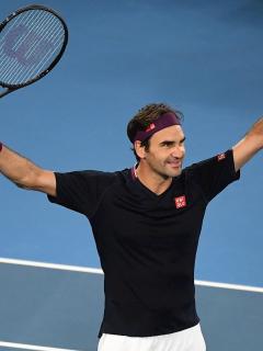 Federer logra asombroso récord en Abierto de Australia luego de ganar durísimo partido