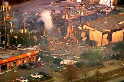 Explosión en Houston
