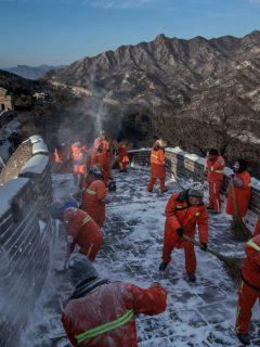 La Gran Muralla China y otros sitios turísticos afectados por el coronavirus